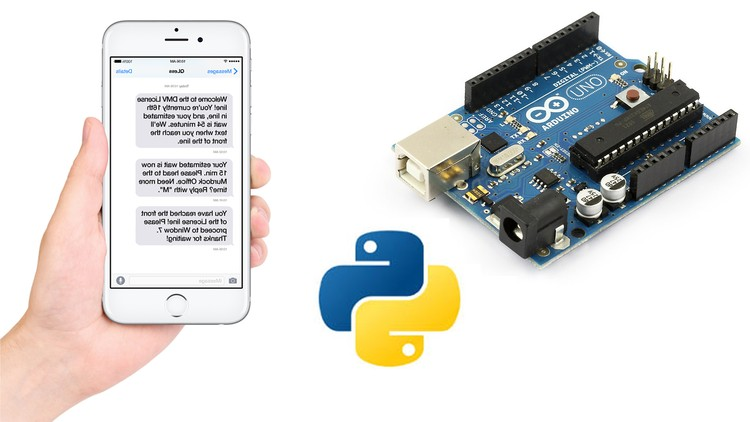 Arduino SMS Sending Motion Detector using Python